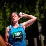 Drenching with water at Nayland 10k